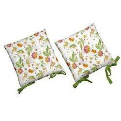 flower chair pads