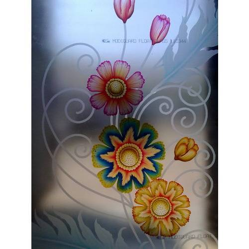 Flower Designs For Painting On Glass