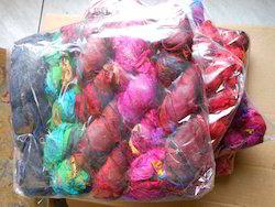 Sari Silk Ribbons In Plain Colors