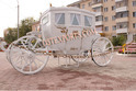 Royal Family White Carriage