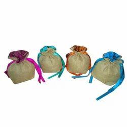 Jute Drawstring Bag(P510)