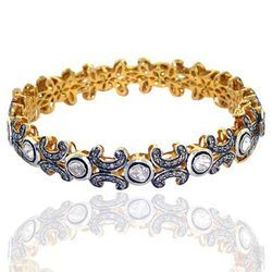 Designer Diamond Bangle Jewelry