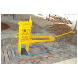 manual fly ash brick and block making machine
