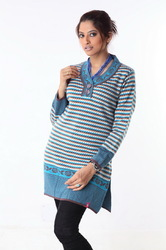 Ladies long sweater 12