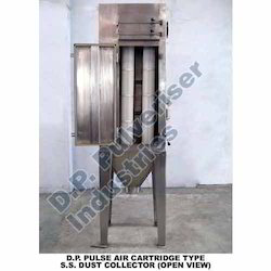 Pulse Air Cartridge Type SS Dust Collector