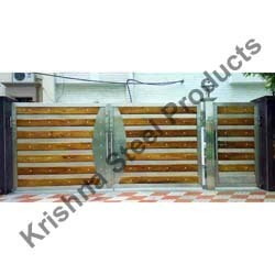 Customized Stainless Steel Outdoor Gates