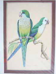 Miniature Painting Parrot