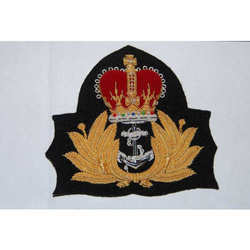 Navy Service Cap Badge