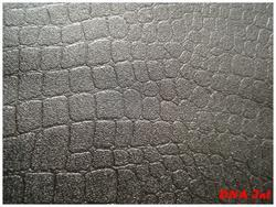 split Crocodile Print Leather