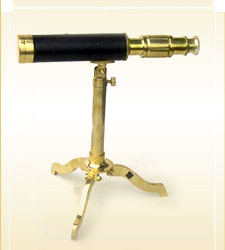 Brass Table Top Telescope