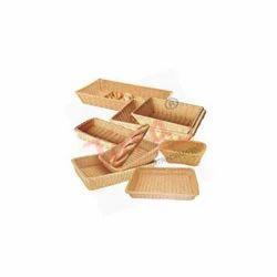 Rectangular Polypropylene Rattan Basket