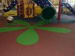 Play Area Rubber Flooring