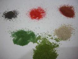Colour Quartz Grains