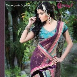 Multicolor Fancy Saree