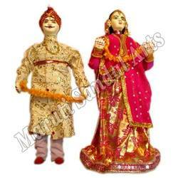jaipur couple dolls