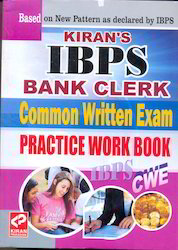 IBPS Bank Clerk Common Written Exam Practice Work Book