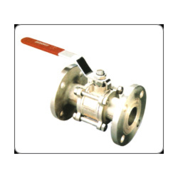 Three Piece Design Full Port Flanged End Ball Valves