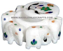 Marble Elephants Box