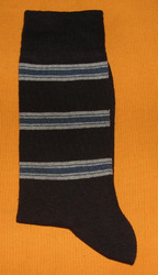 AOV /MN/ST/40A Men Stripe Socks