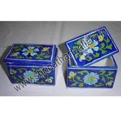 Painted Marble Boxes