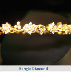 Aanchal Designer Diamond Bangle