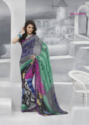 New Cut Daana Work Sarees
