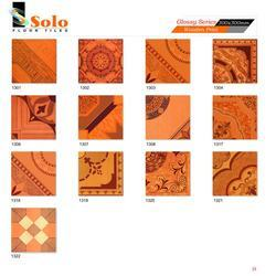 Glossy Series - Wooden Print Tiles