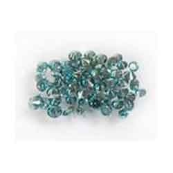 1.00 Ct Natural Loose Round Brilliant Cut Blue Diamonds Lot