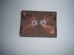 Fabric Covered Boxes For Wedding Invitations