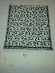 Embroidered Woolen Shawls, Stoles & Scarves
