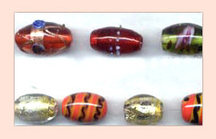 Decorative Lampwork Beads