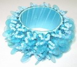 Beaded Napkin Ring 232