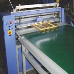Knife Pleating Machine With Conveyor