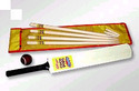 promotional cricket set wooden