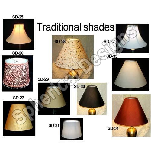 Fabric lamp shades exporter from noida