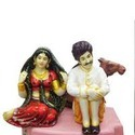 Bride Groom Fibre Statues