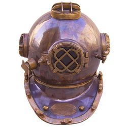 Copper & Brass Diving Helmet