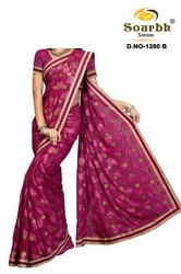 Heavy Hand Work Sarees (1280-B)
