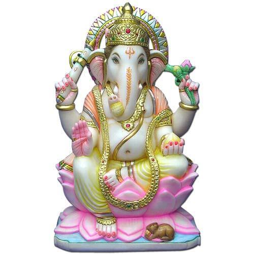 Marble Ganesha Statue Lord Ganesha Statues Exporter From