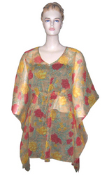 Chiffon Printed Kurtis