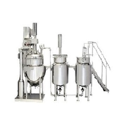 Automatic Pharma Ointment Plant