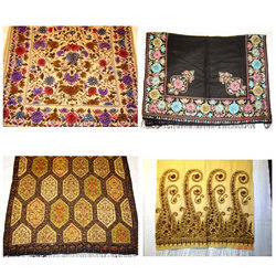 Silk Pashmina Fancy Shawls,Stoles and Scarves