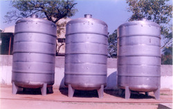 Storage Tanks In Stainless Steel
