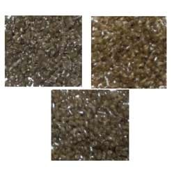 LDPE Tea Coloured Recycled Plastic Granules