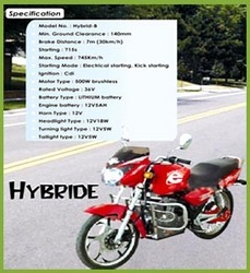 Hybrid Two Wheeler