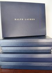 Shirt Boxes With Foil Stamping
