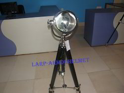 Search Light With Wooden Stand