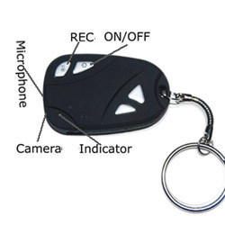 Spy Autolock Keyring Camera