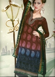 Heavy Work Salwar Kameez