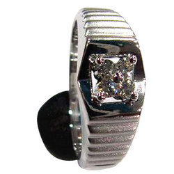Platinum Gents Ring